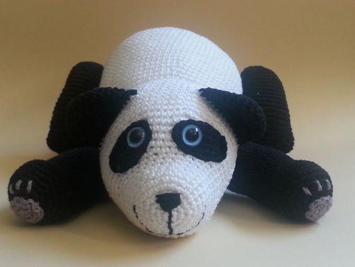 Häkelanleitung - Patrick Panda