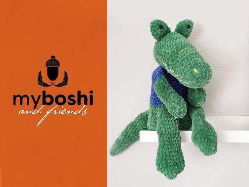 Krokodil Samu - myboshi&friends Version