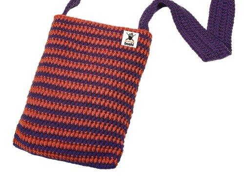 Häkelanleitung für gestreifte Tasche Niseko