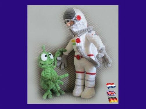 """Astronaut """"Wir sind nicht alleine """""""