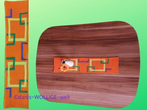 Tischband Maja