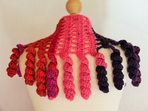 Schal mit Spiralen Yayoi