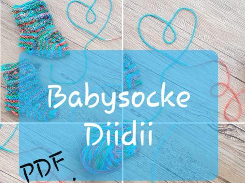 Babysocke stricken, DiiDii