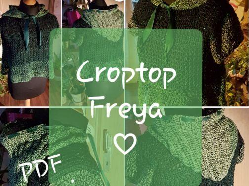 RVO Crop Top häkeln, Freya