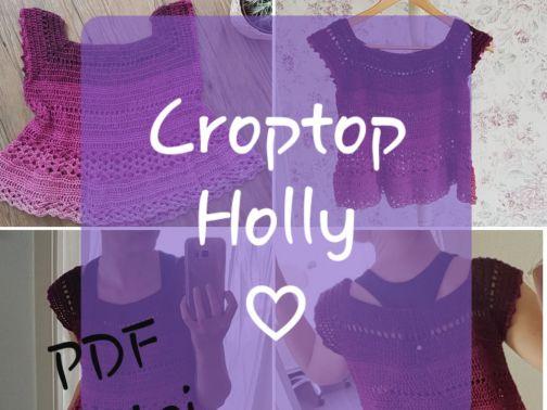 Crop Top häkeln, Holly