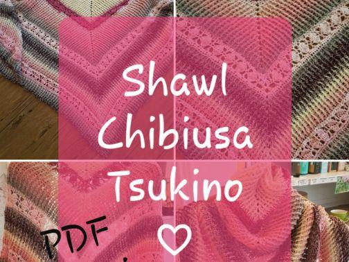 Dreieckstuch häkeln, CHIBIUSA Tsukino