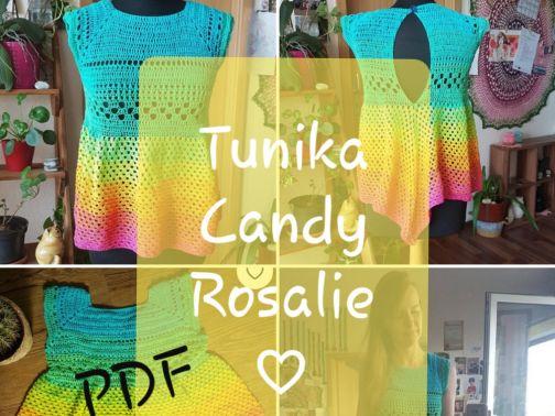 Tunika häkeln, Candy Rosalie
