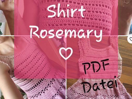 Shirt häkeln, Rosemary