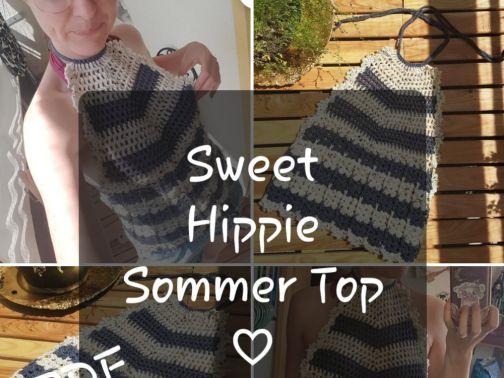 Top häkeln, Sweet Hippie Sommer Top