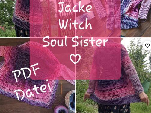 Jacke häkeln, Witch Soul Sister