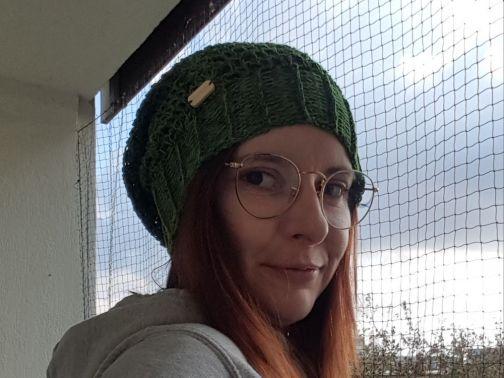 Mütze häkeln, Waldgeflüster