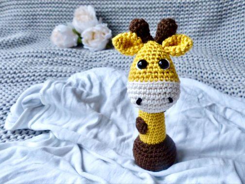 Greifling Giraffe Glückskind