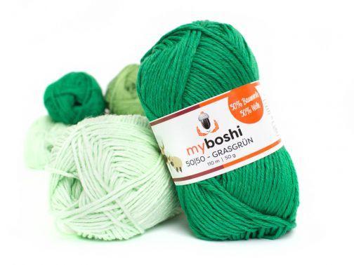 myboshi 50|50 –30 Farben– grasgrün