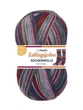 Lieblingsfarben Sockenwolle Karin Kaiser