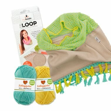 Strickset Loop Lucca No.2 + Loop