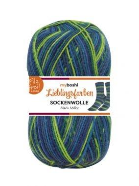 Lieblingsfarben Sockenwolle Maria Müller