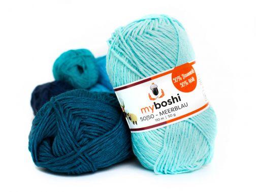 myboshi 50|50 –30 Farben–