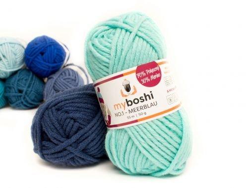 Myboshi No.1 meerblau
