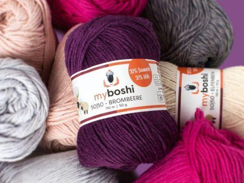 myboshi 50|50 rose