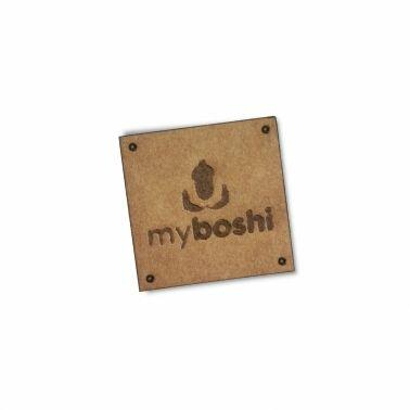 myboshi Label: dein veganes Etikett in Lederoptik