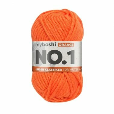 myboshi No.1 orange