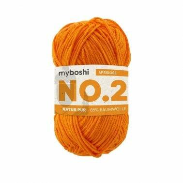 myboshi No.2 aprikose