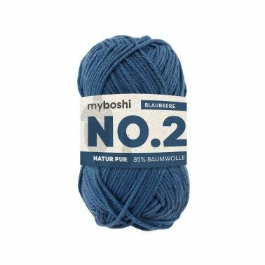 myboshi No.2 blaubeere