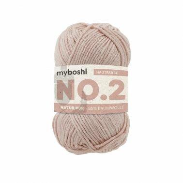 myboshi No.2 hautfarbe