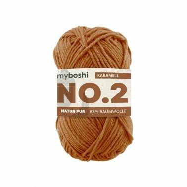 myboshi No.2 karamell