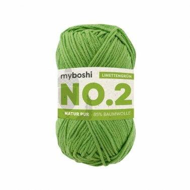 myboshi No.2 limettengrün