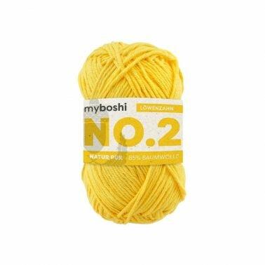myboshi No.2 löwenzahn