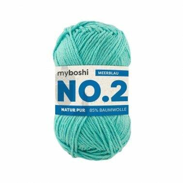 myboshi No.2 meerblau