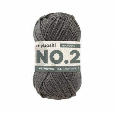myboshi No.2 titangrau