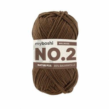 myboshi No.2 walnuss