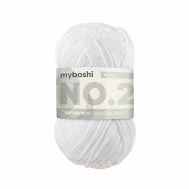 myboshi No.2 weiß