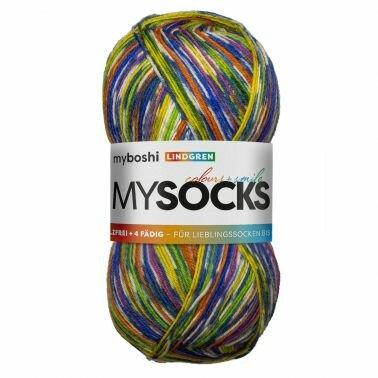mysocks Sockenwolle Lindgren