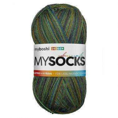 mysocks Sockenwolle Skogen