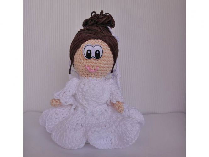 berli design braut amigurumi puppe. Black Bedroom Furniture Sets. Home Design Ideas