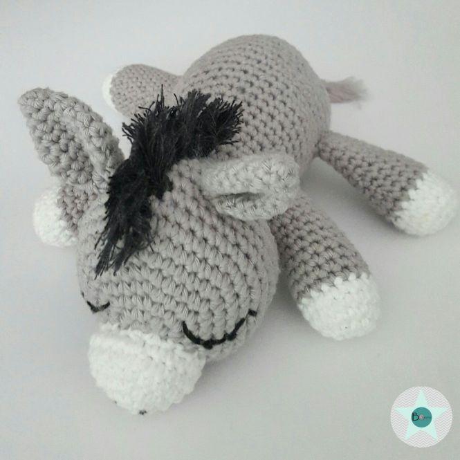 BOmondo - Häkelanleitung Esel Beppo | MyBoshi.net