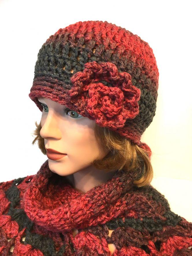 crochetmama - Häkelanleitung Mütze Cloche aus 1 Knäuel myboshi \