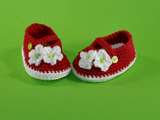 lucygurumi - Häkelanleitung Baby Ballerinas | MyBoshi.net