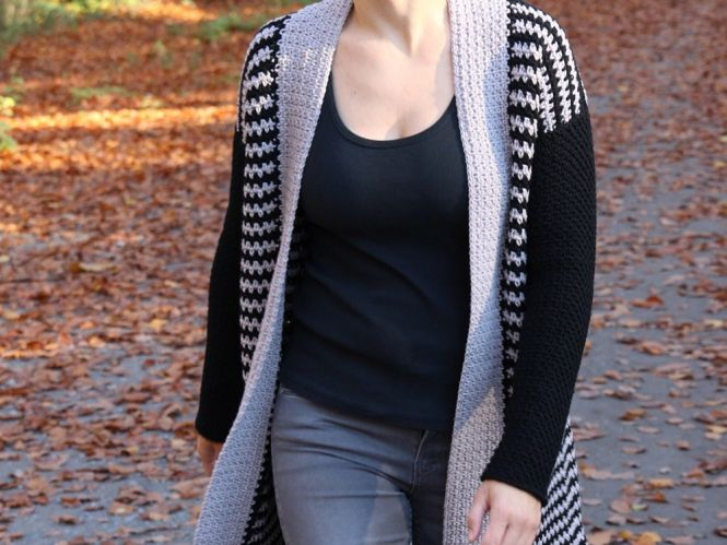 Jennifer Stiller - Häkelanleitung Cardigan | MyBoshi.net