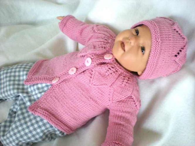 ursula-petra - Strickanleitung Babyjacke und Mütze | MyBoshi.net