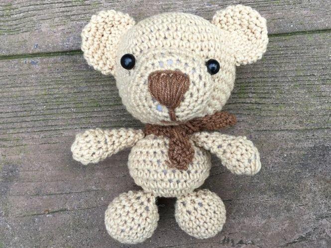 PointelleShop - Amigurumi Puppe Teddybär Häkelanleitung | MyBoshi.net