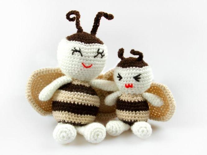 Pointelleshop Amigurumi Puppe Bienchen Häkelanleitung Myboshinet
