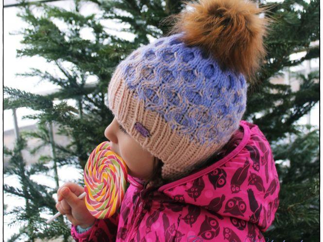 Crisalino Strickanleitung Mütze Blueberry Muffin Myboshinet