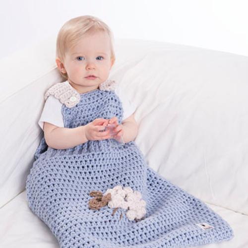 anleitung f r geh kelten schlafsack f r babys kinder. Black Bedroom Furniture Sets. Home Design Ideas
