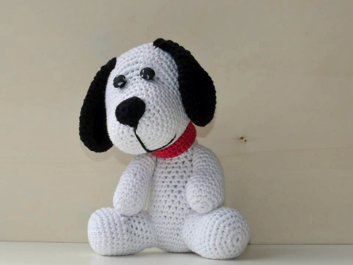 s er amigurumi hund geh kelt dein liebstes spielzeug. Black Bedroom Furniture Sets. Home Design Ideas
