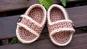 Häkelanleitung für sommerliche Babysandalen