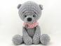Teddy Bär Micha mit Schal